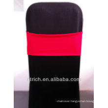 cheap chair covers chair sashes,Gorgeous Spandex Band,Lycra Band,red
