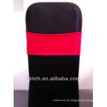 cadeira barata cobre faixas de cadeira, linda banda de elastano, Lycra banda, vermelho