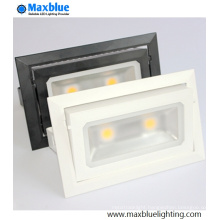 40W Epistar COB Square Downlights