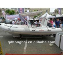 barco inflável rígido RIB520C corridas de barco inflável