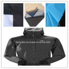 Taslon fonctionnel avec respirant et coupe-vent pour le tissu de vêtement