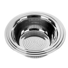16inch stainless steel vegetable fruit bowl strainer basket