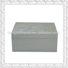 Eco friendly caixa de jóia de casca de água doce para o anel