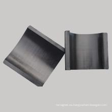 Segmento de arco de imán de cerámica permanente