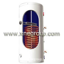 copper coil heat exchanger solar hot water storage tank
