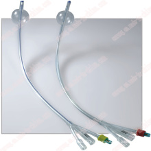 Single Use 3-Wege-Standard-Silikon Foley Ballonkatheter