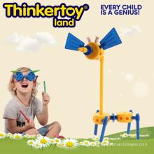 Venta caliente juguete educativo de construcción de plástico para niños