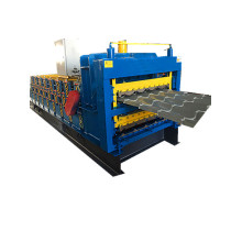 three layer roof sheet roll forming machine