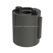 Amortisseur rotatif d'amortisseur de baril de cendrier portatif de voiture