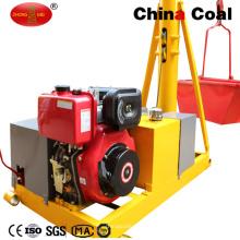 Petite grue de moteur diesel de construction de machine de levage