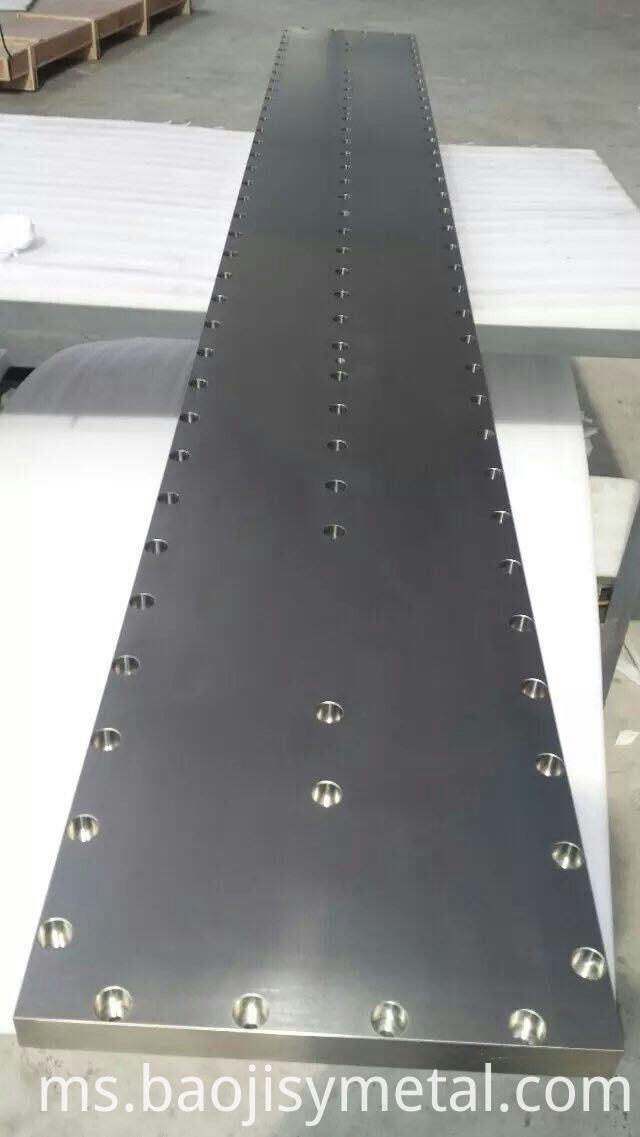 Molybdenum Target Plate