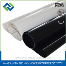 Résistance thermique 0.15mm - 2.00mm d'épaisseur antistatique enduit de silicone en fibre de verre