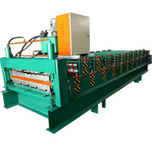 iron sheet tile double layer press equipment