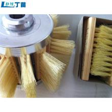 escova de rebarbação de cerdas tampico para eliminação de poeira