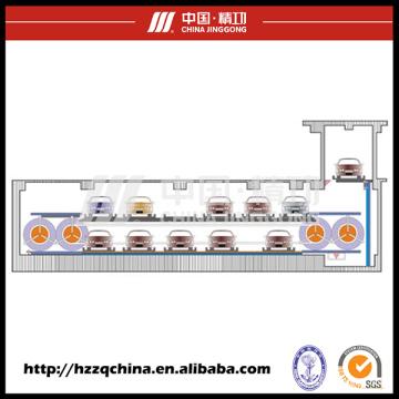 Garaje de estacionamiento automatizado para automóviles populares con sistema de estacionamiento Psx
