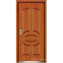 Türkische Art Stahl Holz gepanzerte Tür, türkische Tür (LTK-D037)