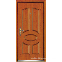 Turkish Style Steel Wooden Armored Door, Turkish Door (LTK-D037)