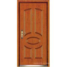 Турецком стиле стали деревянные бронированные двери, турецкие двери (ЛТК-D037)