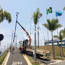 nueva luz de calle de energía solar de ahorro de energía de YANGZHOU / con aluminio llevó la luz de calle