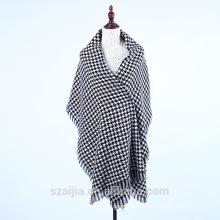 Mantón de poncho de invierno