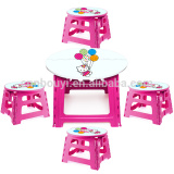 factory price nice outdoor folded stool & table set