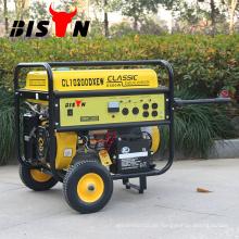 BISON CHINA TaiZhou GREEN MAX 10 HP 7.5kva Benzingenerator