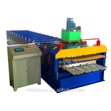 xn camada dupla máquina de formação de rolo de folha de telhado para venda