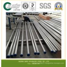 Sch40 TP304 316 316L Tuyau en acier inoxydable