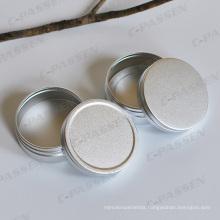 High-End Oxidized Silver Cosmetics Cream Jar