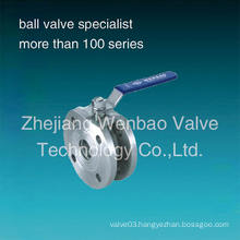 Wafer Type Stainless Steel Ball Valve