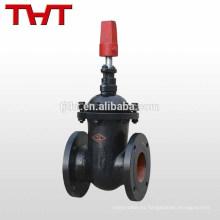 asiento de metal de tubería subterránea válvula de compuerta de 12 pulgadas