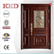 2015 году новые стальные двери KKD-910B для матери & сына лист дизайн дверей из Китая Топ бренда KKD
