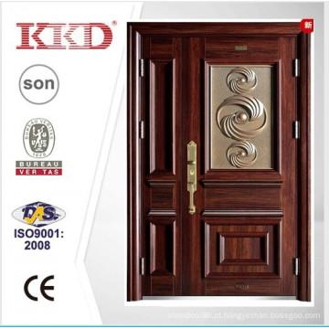 2015 nova porta de aço KKD-910B para mãe e filho porta folha Design da China marca Top KKD
