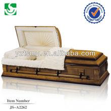 Cremação de caixão de estilo americano