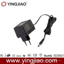 3W Enchufa el adaptador de CC con la aprobación del Ce