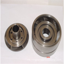 Precision casting wheel guide blade