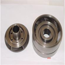 Precision casting blade guide wheel