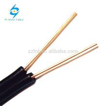 Drop Wires 2 Core BC/CCA/CCS Cat3 10 Pair Copper Telephone Cable