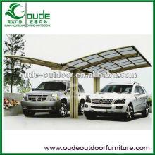 large outdoor car awning