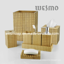 Acessório de banho de bambu carbonizado (WBB0454A)