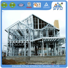 Hot sale economical steel frame house prefabricated hotel