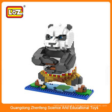 Children mini cartoon figures plastic building blocks toy for sale