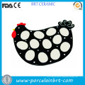 Rooster Shaped Promotion Quial Egg Tray