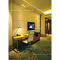 Tête de lit en verre et ensemble moderne de meubles de chambre à coucher (EMT-B1202)