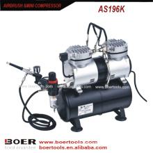 Kit compresseur Airbrush avec réservoir de 3,5 L