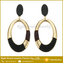 Colorful Latest Artificial Earrings Round Shaped Long Drop Earrings