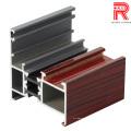China Beste Qualität OEM Aluminium / Aluminium Extrsion Profile für Fenster / Tür / Vorhang Wand