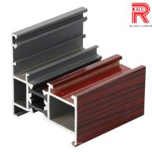 6060 Alloy Perfis de extrusão de alumínio / alumínio para janela / porta / cortina moldura de parede