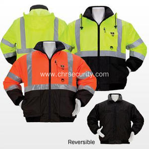 Multi-function reflective jacket