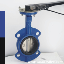 JIS / ISO Type Semi-Wafer / Lug type vanne papillon marin fournisseur